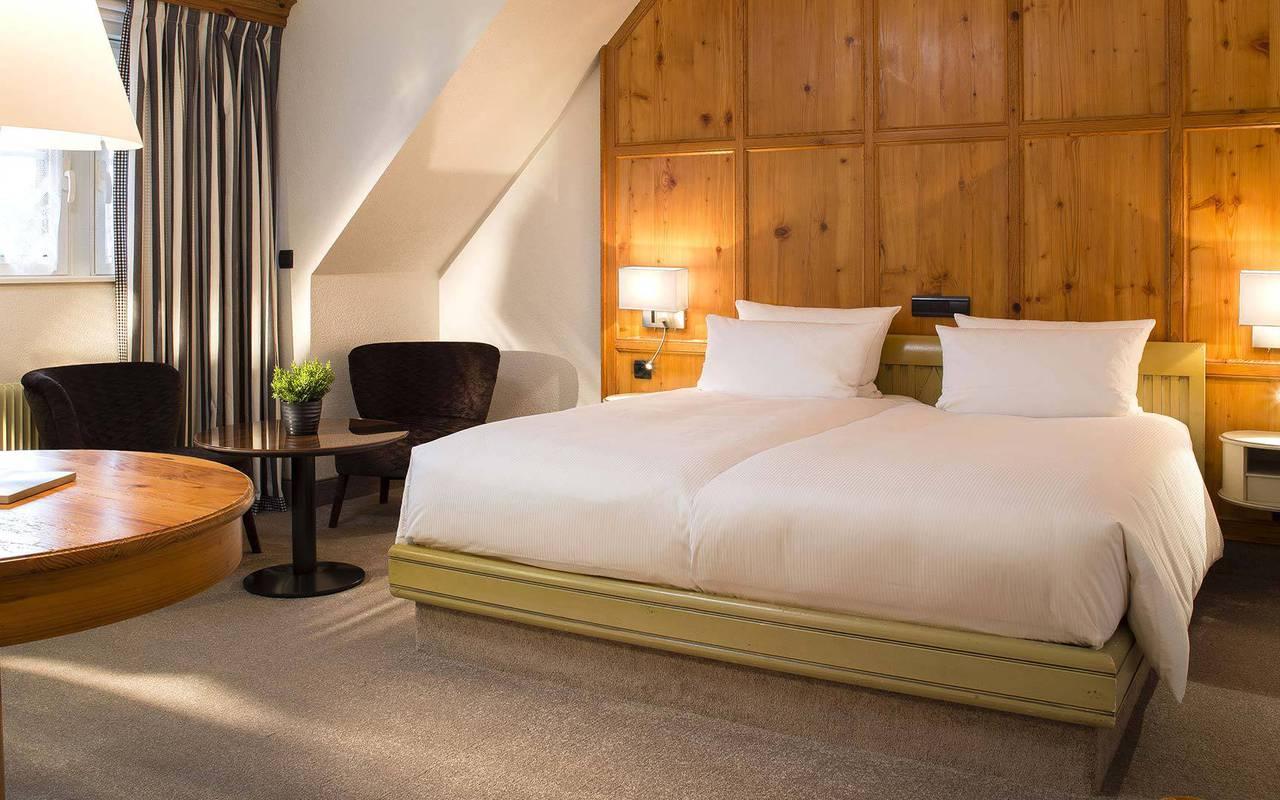 Luxurious bar Hotel spa Alsace