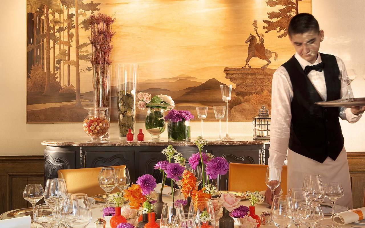 Prestigious table Hotel Seminaire Strasbourg