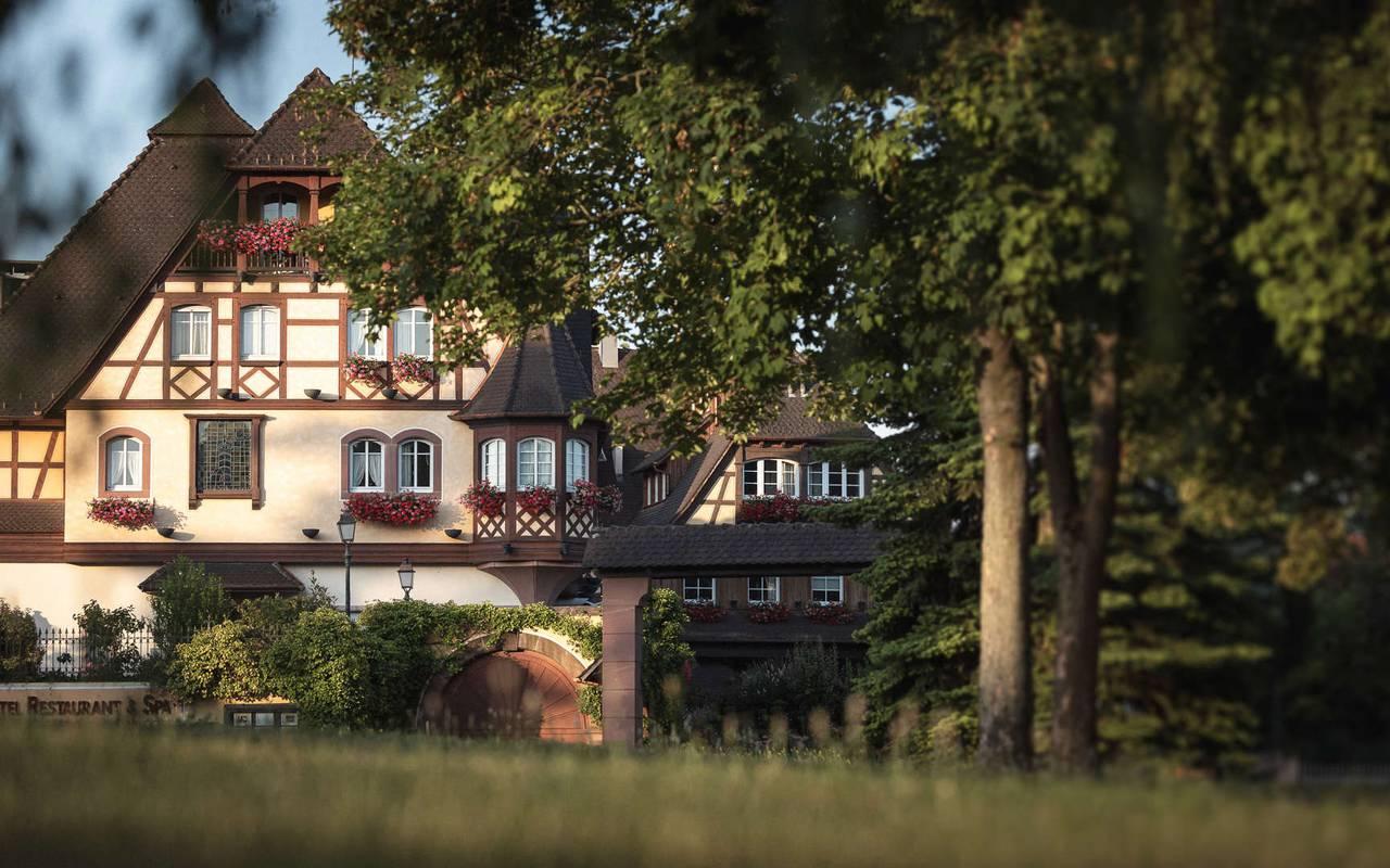 Tennis Hotel de Charme Alsace