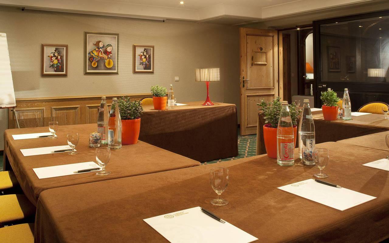 Cuisine luxueuse Hotel de charme Alsace