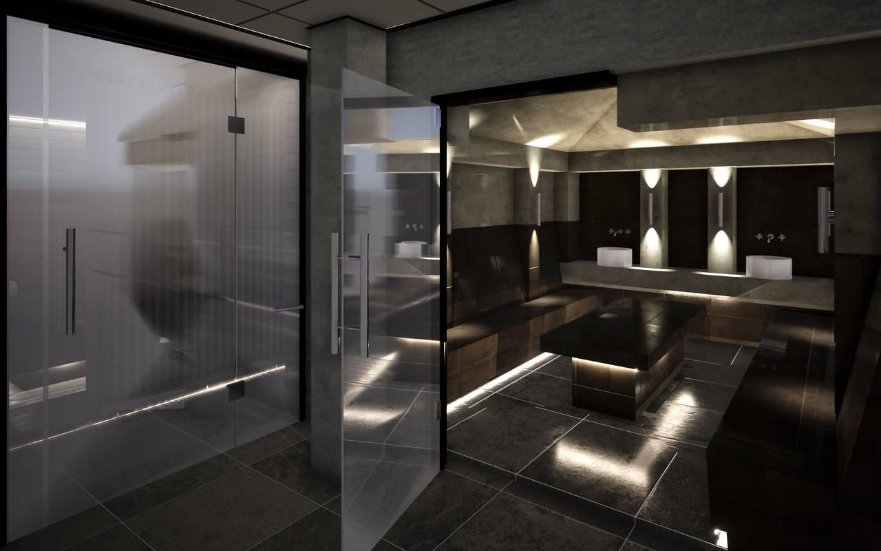Maquette 3D Hotel Spa Alsace