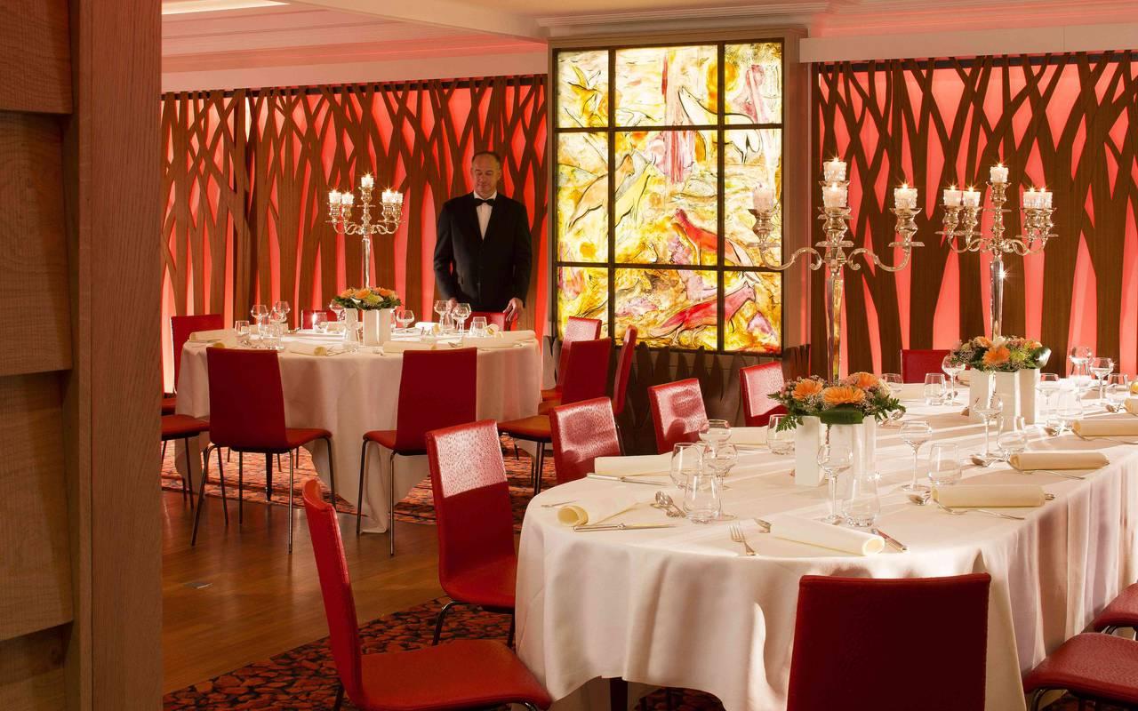 Repas convival Hotel de charme Alsace